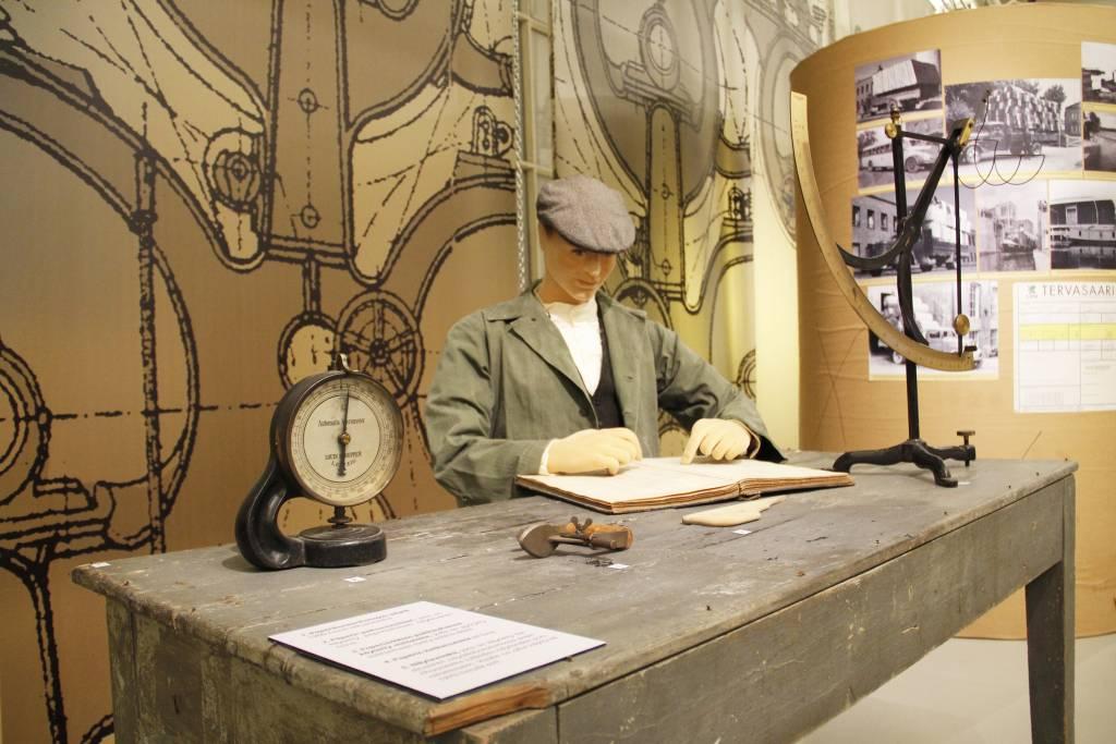 Vana-näyttely Myllysaaren museossa