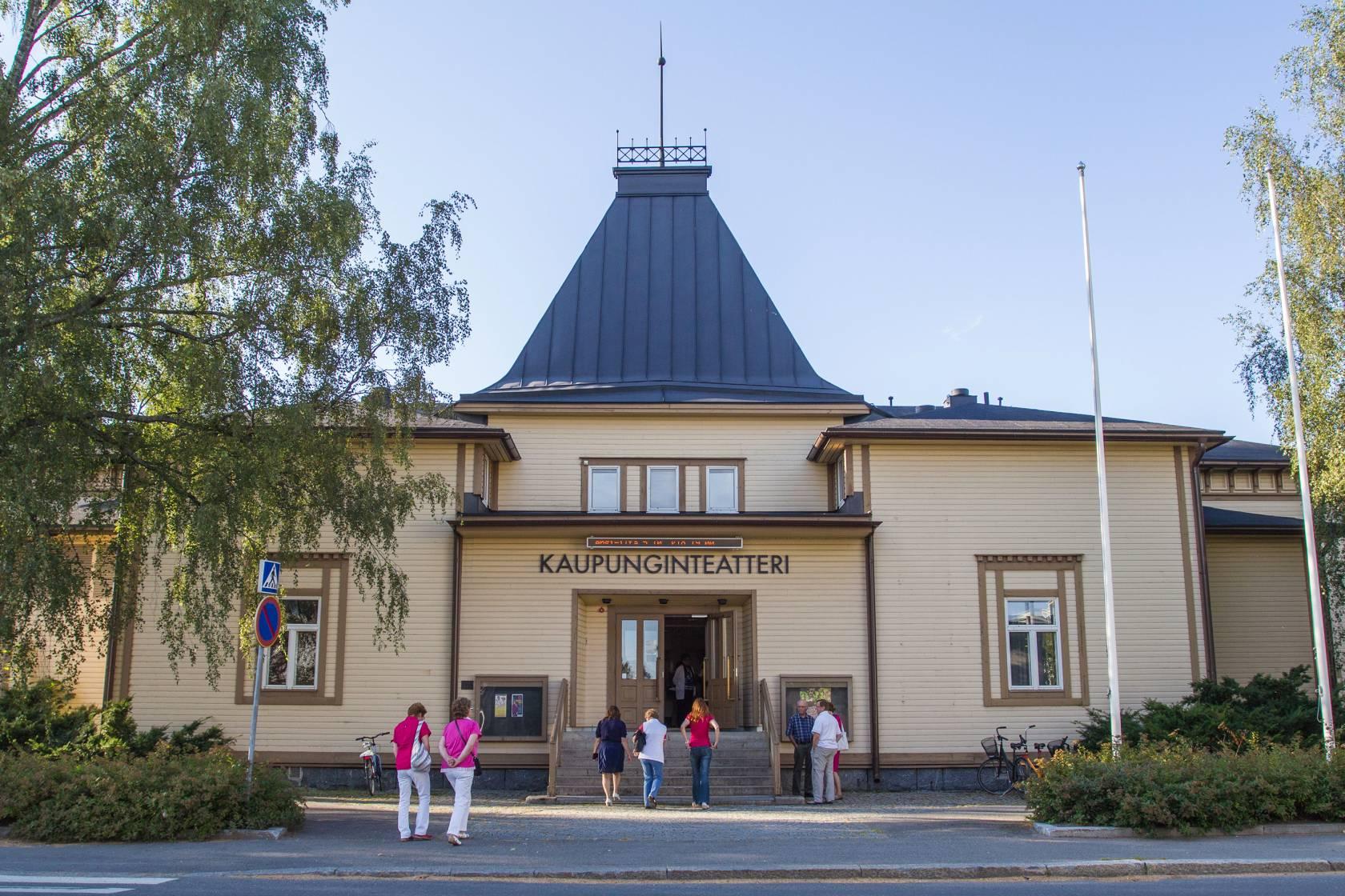Valkeakosken kaupunginteatteri.