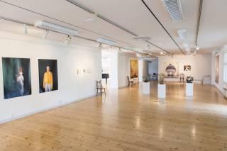 Taidenäyttely Voipaalan taidekeskuksessa
