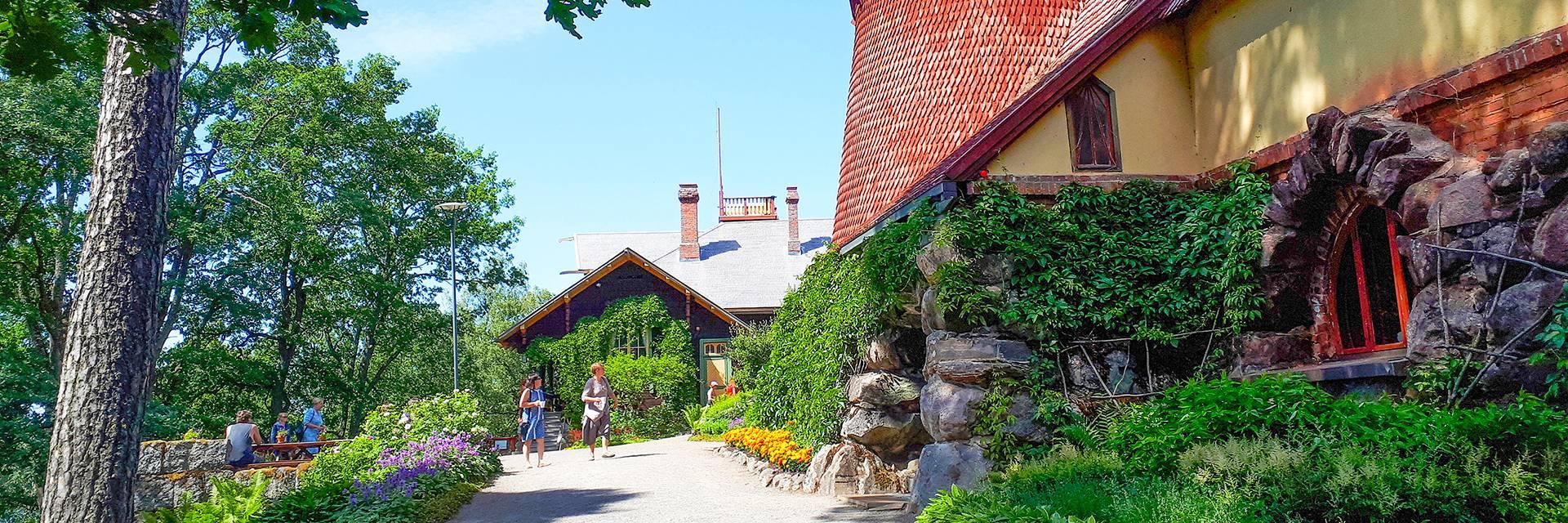 Visavuoren museon rakennukset Valkeakoskella