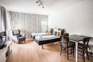 Haave Apartments majoitushuone