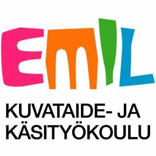 Kuvataide- ja käsityökoulu Emil -logo