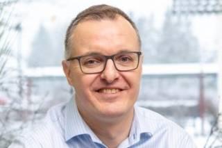 Kuvassa Valkeakosken kaupungin yritysasiamies Vesa Varho