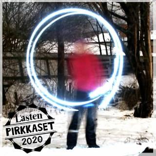 LastenPirkkaset-logo ja valotaidetta