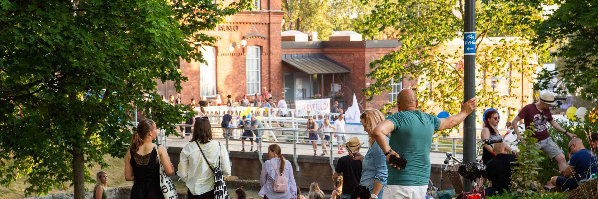 Valkeakoski is active city.