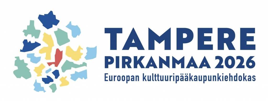 Tampereen ja Pirkanmaan Kulttuuripääkaupunki haun logo