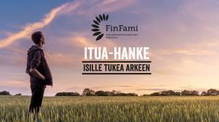 ITUA-hankkeen mainos.
