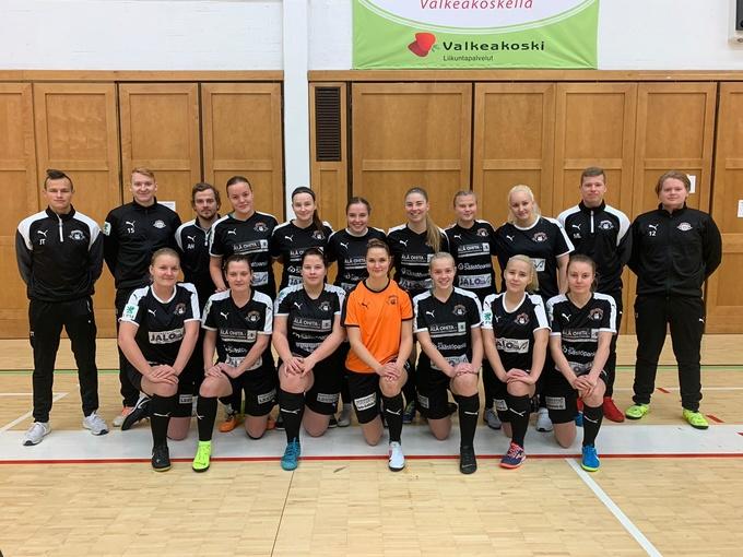 Futsalin Mad-Max naistenjoukkue.