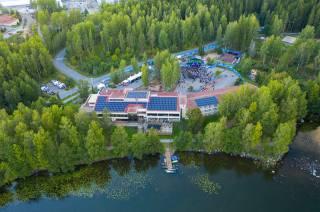 Hotelli Waltikka near by lake Mallasvesi.