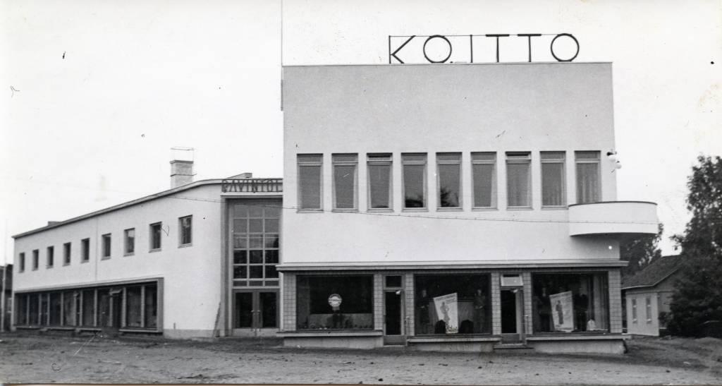 Vanha kuva Osuusliike Koitosta.