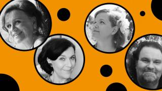 Laulajat: Kati Huvi, Marika Järvinen, Anne Saarinen ja Juhani Fredrikson.