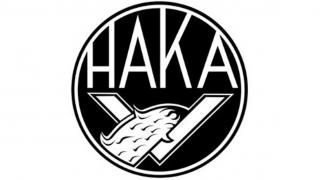 Jalkapallojoukkueen FC Hakan logo.